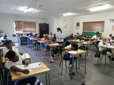 ROCCS School 31st May 2021 Grade 4s writing Mid June Assessment Tests
