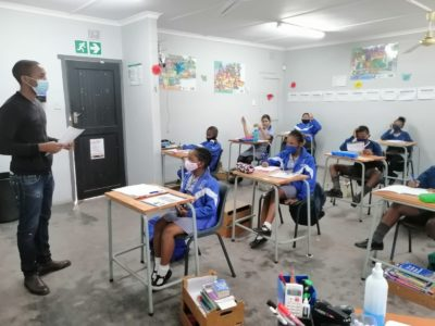 ROCCS School 31st May 2021 Grade 5s writing Mid June Assessment Tests.