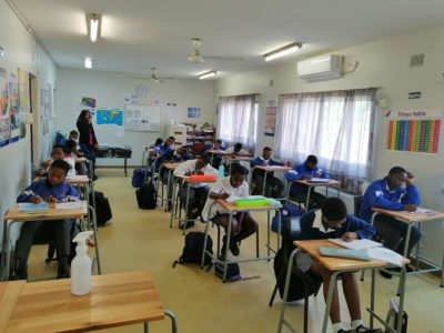 ROCCS School 31st May 2021 Grade 6s writing Mid June Assessment Tests