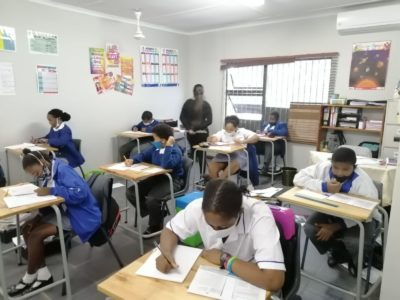 ROCCS School 31st May 2021 Grade 7s writing Mid June Assessment Tests